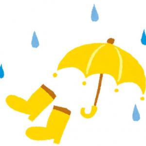 梅雨入り。
