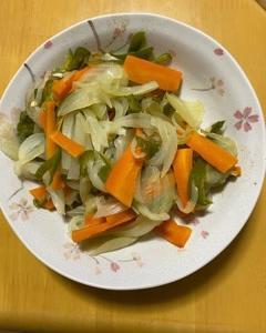 今日の料理(*_*)
