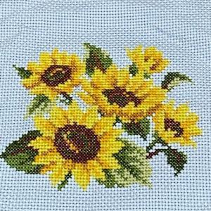 【ルシアン】四季折々の花だより~8月ひまわり~完成しました。
