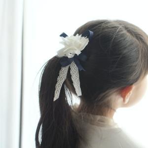 【卒園式・入学式  女の子の髪】100均の材料で作る!簡単・高見え?なヘアアクセの作り方。