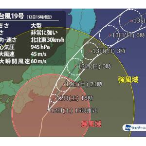 台風集中豪雨で荒川の危険度はどう変化した?台風19号の水位記録と警報