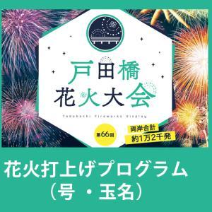 戸田橋花火大会2019時間とプログラム(花火の号数・種類・名称)