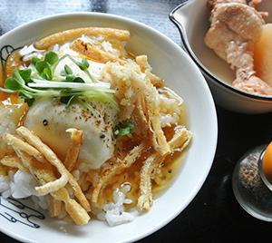 あんかけ豆腐丼