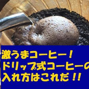 激うまドリップ式コーヒーの入れ方はこれだ!水出しコーヒーもKALDI