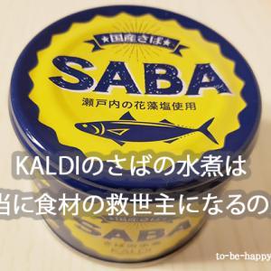 サバ缶にはダイエット効果がある!?KALDIのサバ缶いってみよ~