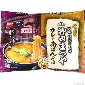 【家庭用麺コレクション】日清食品冷凍 老舗の一品 神田まつや カレー南ばんそば collectionfile0118