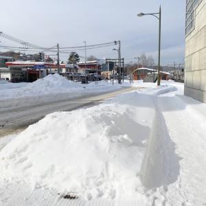 【遠征】2021年1発目、雪を踏みしめ1軒目へ。 その5 Column0466