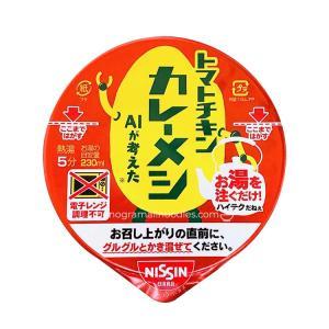 【家庭用麺コレクション】日清食品 トマトチキンカレーメシ AIが考えた collectionfile0291