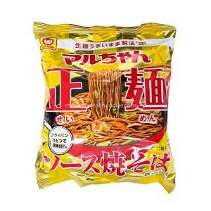 【家庭用麺コレクション】東洋水産 マルちゃん正麺 ソース焼そば collectionfile0351