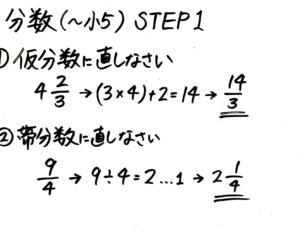 一週間で完成】小学5年生への分数の教え方【約分・通分・足し算引き算