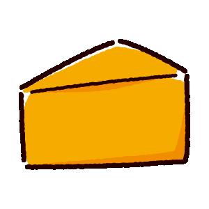 チェダーチーズのイラスト