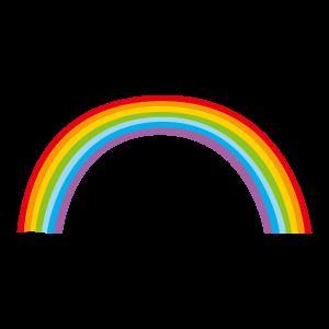 虹のイラスト(2カット)