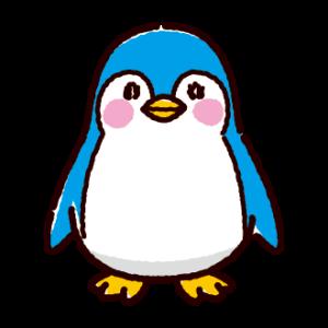 赤ちゃんペンギンのイラスト(3カラー)