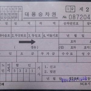 【切符系】 デザインもさまざま 海外の車内補充券