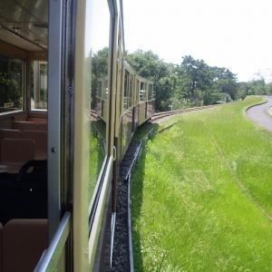 【鉄道施設系】 浜寺公園 交通遊園のディーゼル機関車(大阪府堺市)