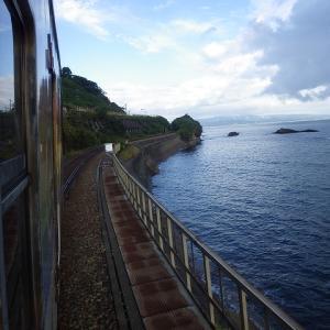 【国内旅行系】 雨晴海岸は見落としてはいけない。氷見線(富山県)