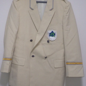 【鉄道部品系】 JR北海道の白制服 (初期型)