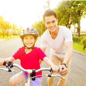 子どもの自転車の練習 うまくいく言葉がけは?