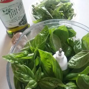 レシピ☆夏に仕込みたい、お好きなナッツで自家製ジェノバソース(ペスト)