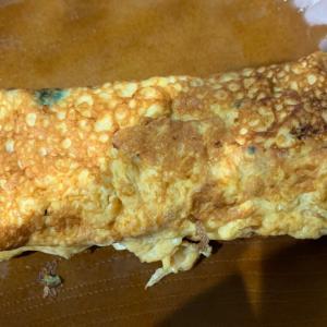 焦げた朝飯‼️