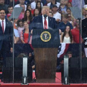 今日の独立記念日のトランプ大統領の演説の意味