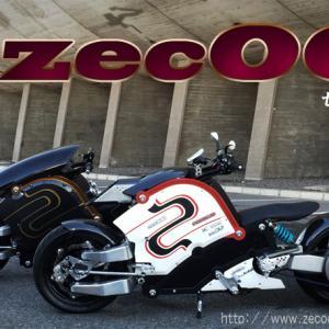 今、最も未来を予感させるバイクは電動バイクzecOO(ゼクー)