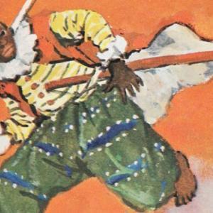 アフリカ人の侍