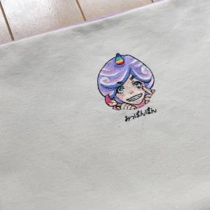 【オーダー】アイコン刺繍のipadケース