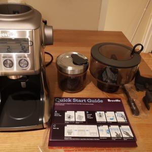Brevilleのコーヒーグラインダーを買ってみた。