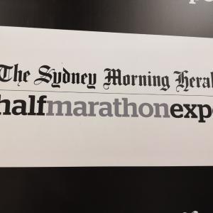 シドニーのハーフマラソンについて(ビブスの受け取り方)