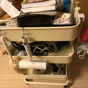 【収納】寝室ワゴンの整理