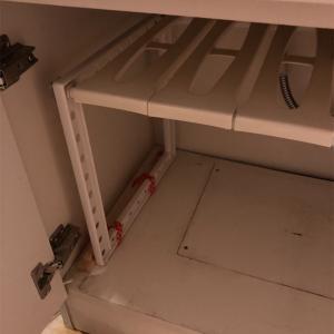 【収納】洗面台下の棚の整理