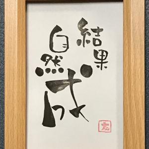 ねこ禅 39  〜結果自然成〜