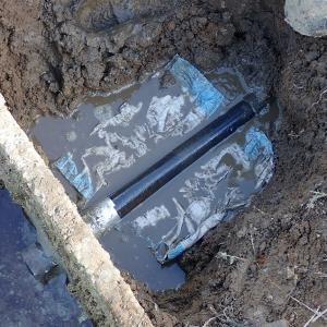 【農業土木】水田暗渠の排水口とU字溝の補修工事をしました。