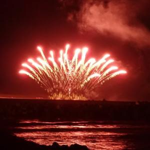 西浜花火大会を オリンパス Tough TG-5 で撮影してみました。
