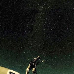 満点の星空、ジャージー島でキャンピング
