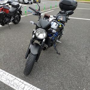 初めてバイクでビーナスラインへ