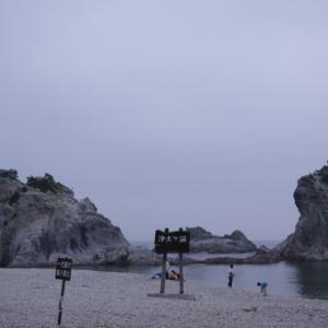 浄土ヶ浜の白岩と透き通った海の景色はまさに極楽浄土でした(岩手県宮古市)