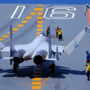 着実に実力をつける中国の空母戦力、艦載機が夜間空中給油能力を獲得
