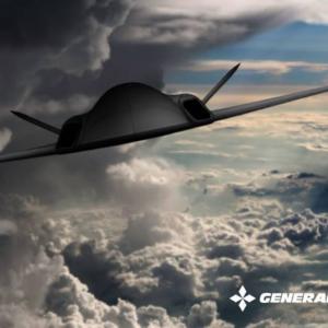 MQ-9の後継機? 米GA、F-117に似た無人航空機のコンセプトアートを公開