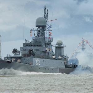 今月4件目の不祥事、ロシア海軍のコルベットと冷凍船がバルト海で衝突