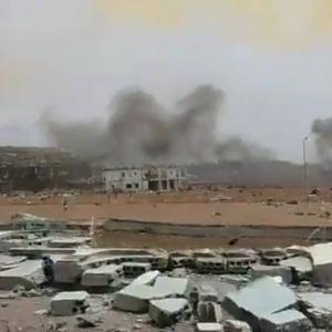 赤道ギニア軍の保管していたダイナマイトが爆発、一瞬で街が瓦礫になり600人以上が負傷