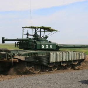 ロシア陸軍、主力戦車に対する対戦車ミサイルのトップアタックを防ぐ保護装置を導入か