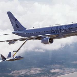 自動空中給油に対応、ロッキード・マーティンが米空軍に提案する空中給油機「LMXT」を発表