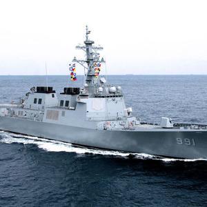 駆逐艦が足りない?韓国、空母やアーセナルシップを建造しても護衛不可