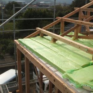 屋根の断熱工事から瓦葺まで