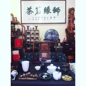 中国顺德 茶館 ひとり活動