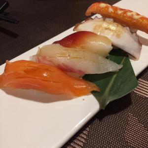 中国生活 日本食飲み屋の寿司 冷える〜