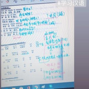 居残り一時帰国の中国語学習