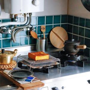 【台所道具】小さいのに使い勝手が良い!アルマイト鍋